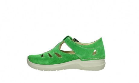 wolky mary janes 06605 smiley 40740 applegreen suede_13