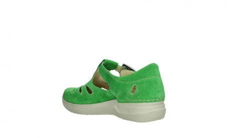 wolky mary janes 06605 smiley 40740 applegreen suede_16