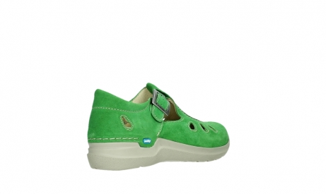 wolky mary janes 06605 smiley 40740 applegreen suede_22