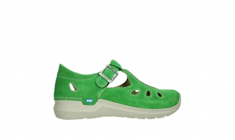 wolky mary janes 06605 smiley 40740 applegreen suede_24