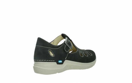 wolky mary janes 06605 smiley 40210 anthracite suede_22
