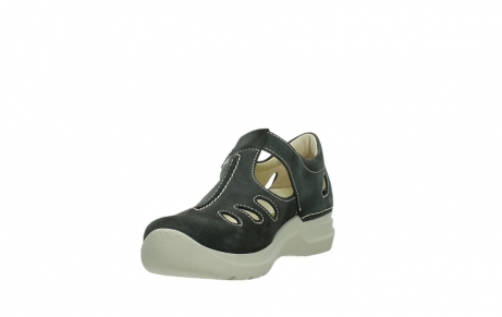 wolky mary janes 06605 smiley 40210 anthracite suede_9