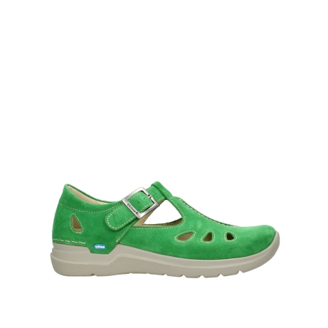 wolky mary janes 06605 smiley 40740 applegreen suede
