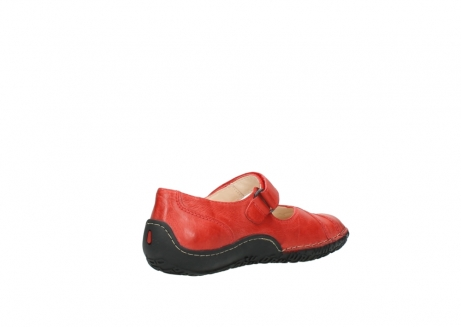 wolky chaussures a bride 08350 light 30500 cuir rouge_10