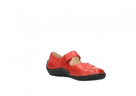 wolky chaussures a bride 08350 light 30500 cuir rouge_16