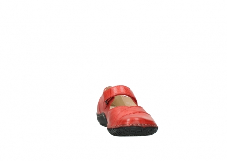 wolky chaussures a bride 08350 light 30500 cuir rouge_18