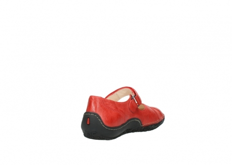 wolky chaussures a bride 08350 light 30500 cuir rouge_9