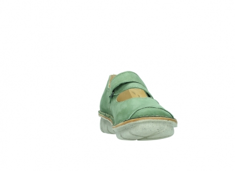 wolky mary janes 08381 roman 10710 olive green nubuck_18