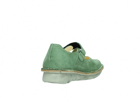 wolky mary janes 08381 roman 10710 olive green nubuck_9