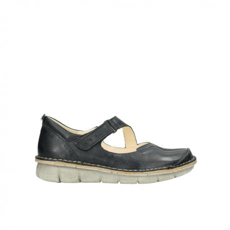 Chaussures Sangle Noir Wolky Cordoba FmwvyXt