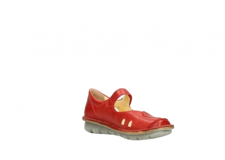 wolky chaussures a bride 08389 cordoba 30500 cuir rouge_16