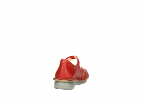 wolky chaussures a bride 08389 cordoba 30500 cuir rouge_8