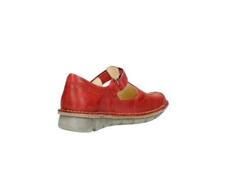 wolky chaussures a bride 08390 kuban 30500 cuir rouge_10