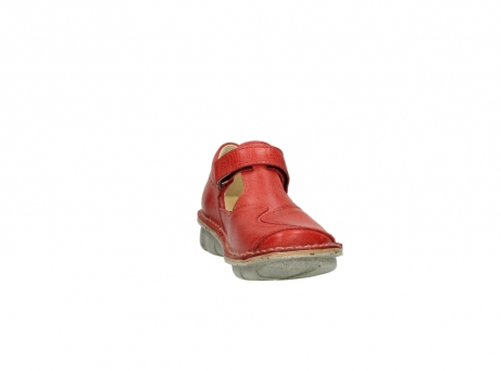 wolky chaussures a bride 08390 kuban 30500 cuir rouge_18