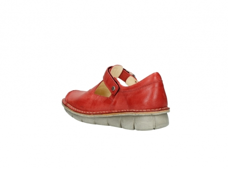 wolky chaussures a bride 08390 kuban 30500 cuir rouge_4