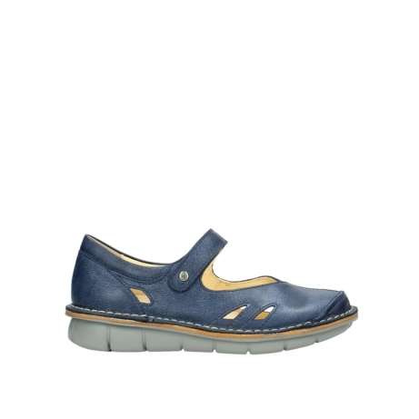 wolky bandschoenen 08393 neath 30820 denim leer