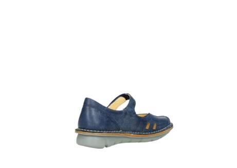 wolky bandschoenen 08393 neath 30820 denim leer_10