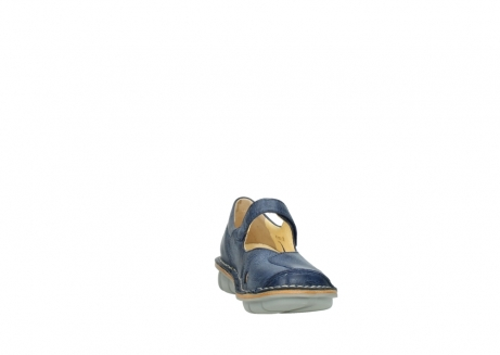 wolky bandschoenen 08393 neath 30820 denim leer_18