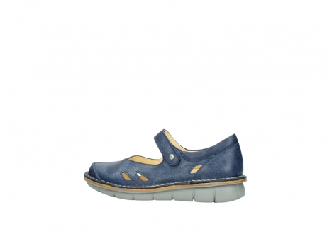 wolky bandschoenen 08393 neath 30820 denim leer_2