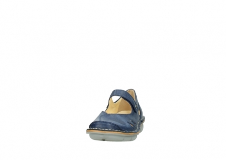 wolky bandschoenen 08393 neath 30820 denim leer_20