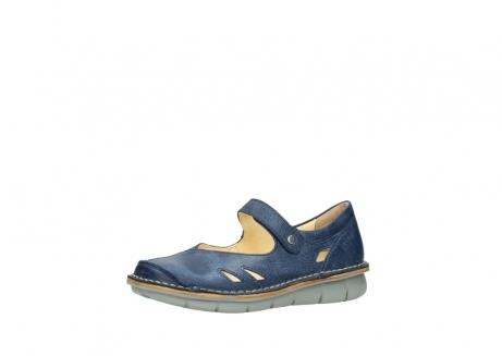 wolky bandschoenen 08393 neath 30820 denim leer_23
