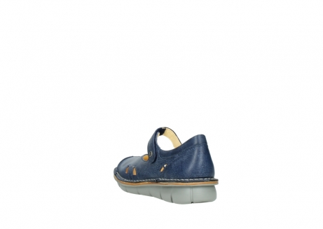 wolky bandschoenen 08393 neath 30820 denim leer_5