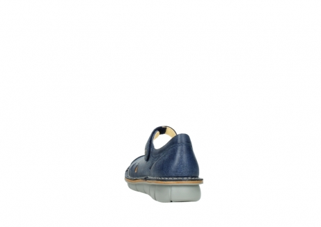 wolky bandschoenen 08393 neath 30820 denim leer_6