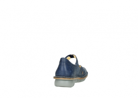 wolky bandschoenen 08393 neath 30820 denim leer_8