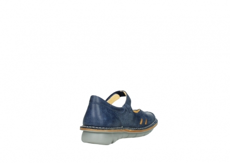 wolky bandschoenen 08393 neath 30820 denim leer_9