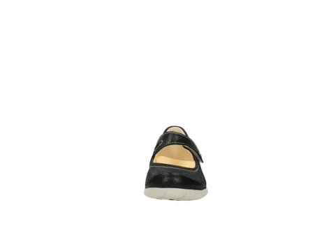 wolky bandschoenen 1508 kiowa 907 zwart dots nubuck_19