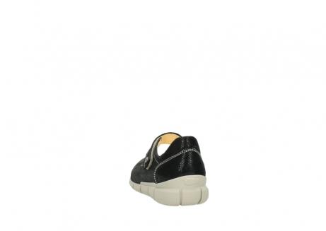 wolky bandschoenen 1508 kiowa 907 zwart dots nubuck_6