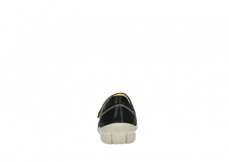 wolky bandschoenen 1508 kiowa 907 zwart dots nubuck_7