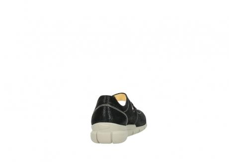 wolky bandschoenen 1508 kiowa 907 zwart dots nubuck_8