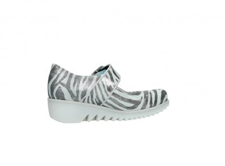 wolky riemchenschuhe 3811 silky 912 zebra print metallic leder_12