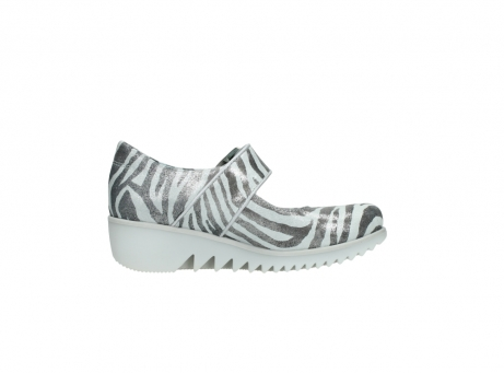 wolky riemchenschuhe 3811 silky 912 zebra print metallic leder_13
