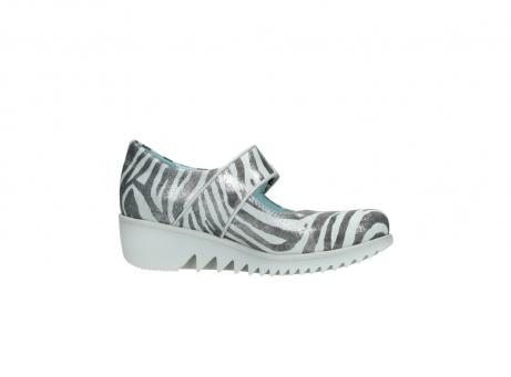 wolky riemchenschuhe 3811 silky 912 zebra print metallic leder_14