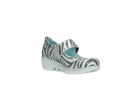 wolky riemchenschuhe 3811 silky 912 zebra print metallic leder_16