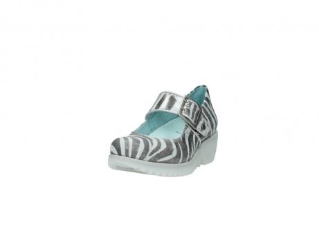 wolky riemchenschuhe 3811 silky 912 zebra print metallic leder_21