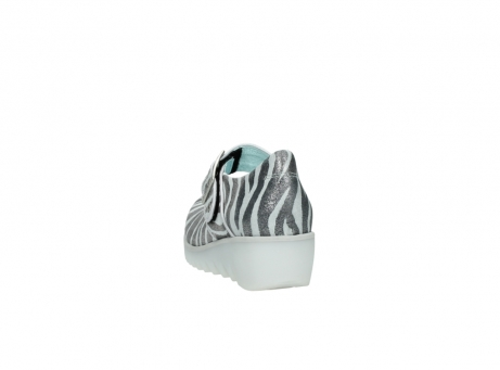 wolky riemchenschuhe 3811 silky 912 zebra print metallic leder_6