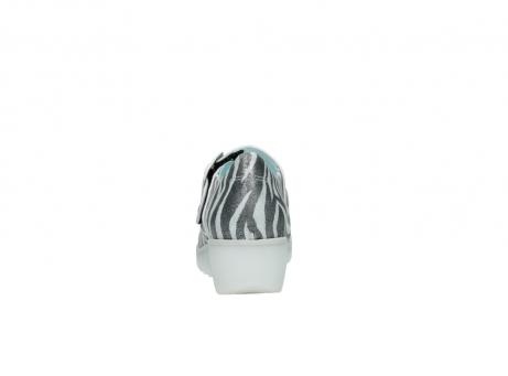 wolky riemchenschuhe 3811 silky 912 zebra print metallic leder_7