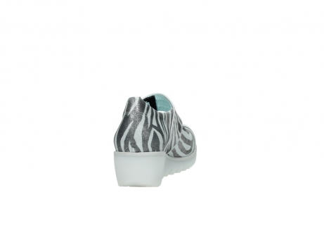 wolky riemchenschuhe 3811 silky 912 zebra print metallic leder_8