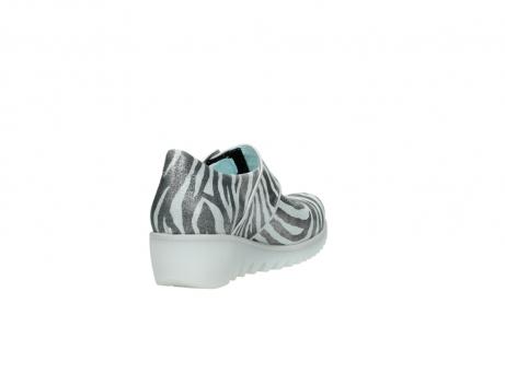 wolky riemchenschuhe 3811 silky 912 zebra print metallic leder_9