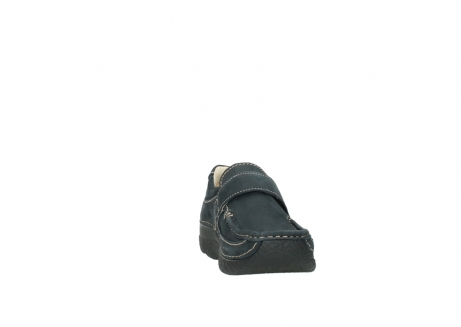 wolky riemchenschuhe 6221 roll strap 980 dunkelblau nubukleder_18