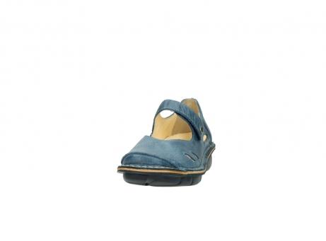 wolky bandschoenen 8382 bering 389 blauw leer_20