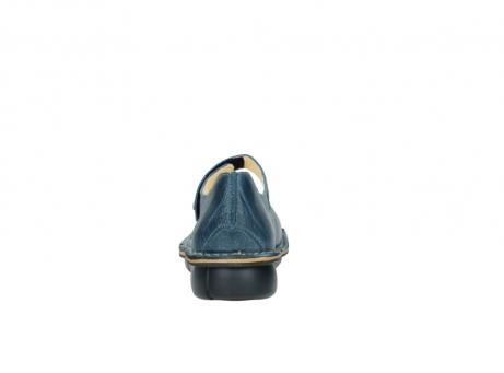 wolky bandschoenen 8382 bering 389 blauw leer_7