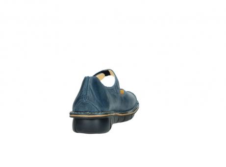 wolky bandschoenen 8382 bering 389 blauw leer_8