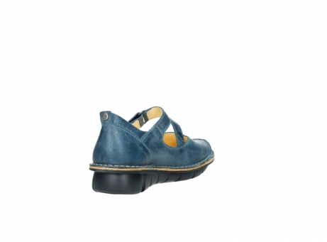 wolky bandschoenen 8389 cordoba 389 blauw leer_9