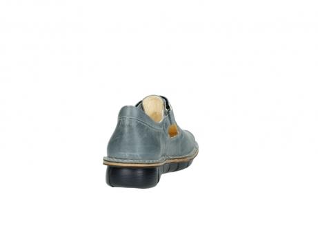 wolky bandschoenen 8390 kuban 326 grijs blauw leer_8