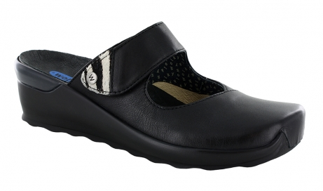 wolky clogs u 2576 up 20000 black leather