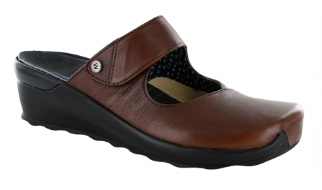wolky clogs u 2576 up 20430 cognac leather